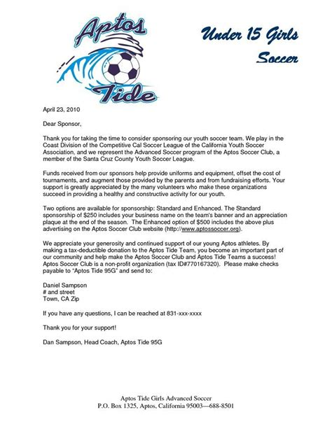 Thank You Letter By Eric Finney thank you letter to parents from soccer coach