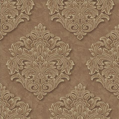 embossed wallpaper grandeco venice damask textured embossed vinyl wallpaper