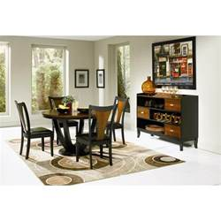 black dining room table sets coaster furniture 102091 boyer dining table in black