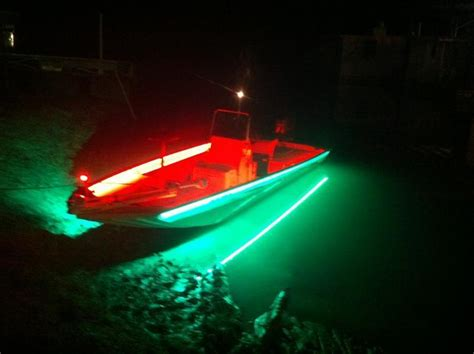 led light strips for boats fishing light question whites hybrids striper fishing forum