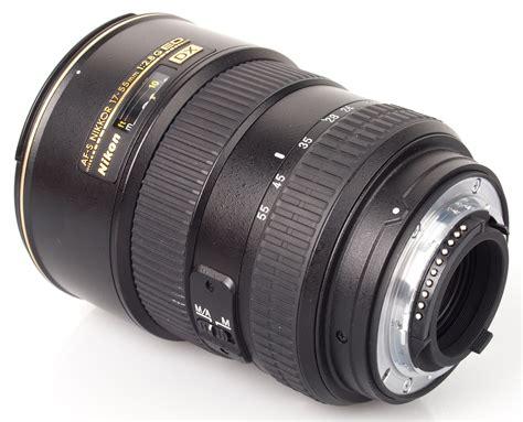 nikon 17 55mm f 2 8g ed if af s dx nikkor lens review