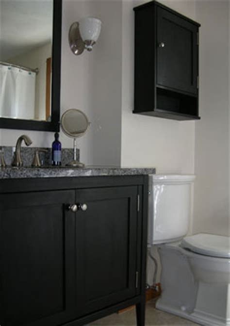 how to paint a bathroom vanity black bloombety black color creative coat hooks creative coat