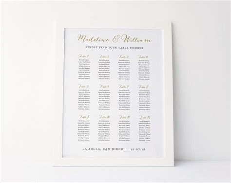 wedding table template wedding seating chart template seating plan seating