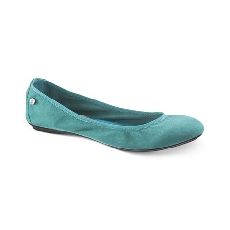 hush puppies chaste hush puppies 174 womens chaste ballet flats in blue plum suede lyst