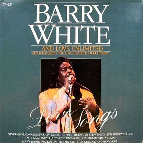 love themes barry white barry white and love unlimited also featuring the love