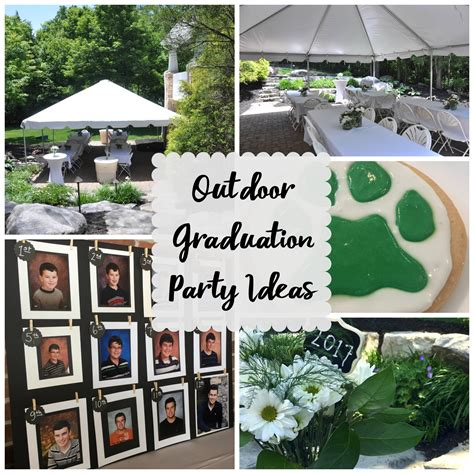 backyard graduation party outdoor graduation party evolution of style