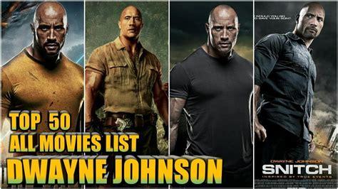 dwayne johnson the rock movies list dwayne johnson all films list filmography youtube