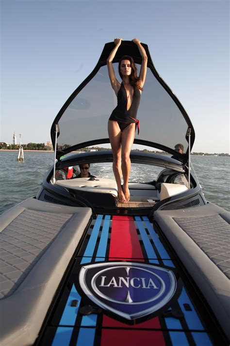 Bathroom Plans the lancia powerboat launched in venice autoevolution