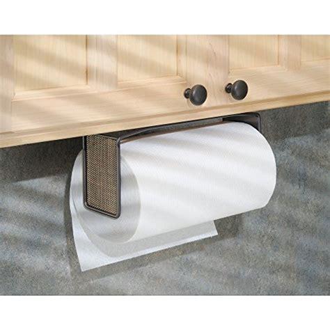 Interdesign Twillo Paper Towel Holder For Kitchen Wall Cabinet Paper Towel Holder