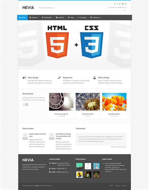 drupal theme update 15 easy to use drupal themes for corporate sites