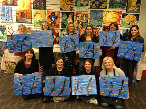 paint with a twist the falls teachers paint with a twist the talon
