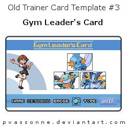 Spot It Card Template For 3 Year Olds by Trainer Card Template 3 By Pwassonne On Deviantart