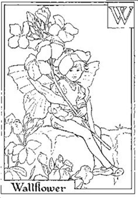 fairies in bloom a flower coloring book books flower alphabet coloring pages second half