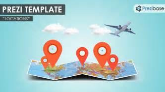 Prezi Templates 3d by Locations Prezi Template Prezibase