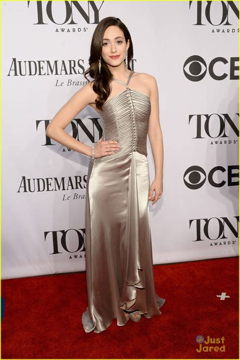 Catwalk To Carpet Emmy Rossum by Emmy Rossum Is A Broadway At Tony Awards 2014