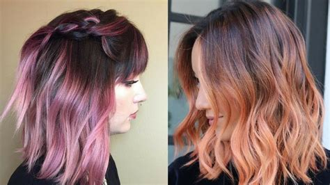 2018 hair color trends new new fall hair color 2018 hairstyles ideas
