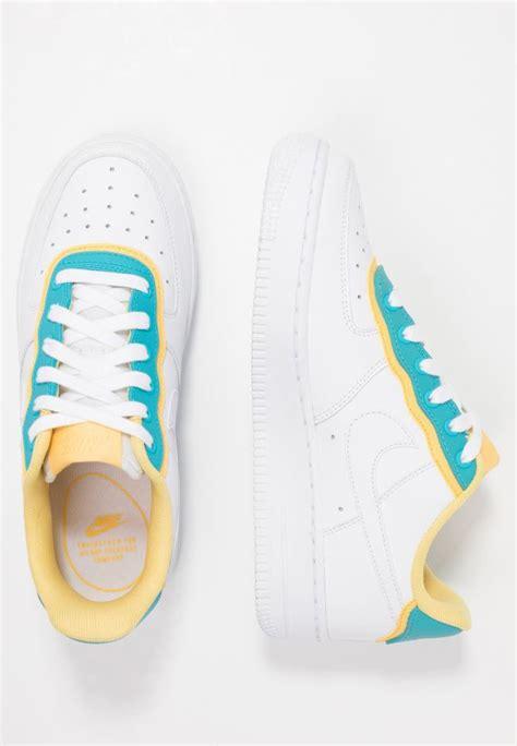 sneaker nike damen air force   se whitelight blue