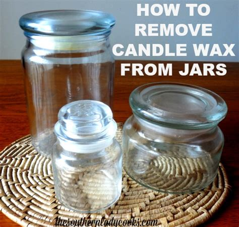 how to remove candle wax from glass containers aunt peaches how to make hobo bags the southern lady cooks