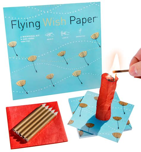 How To Make Flying Wish Paper - flying wish paper write a wish light it on and