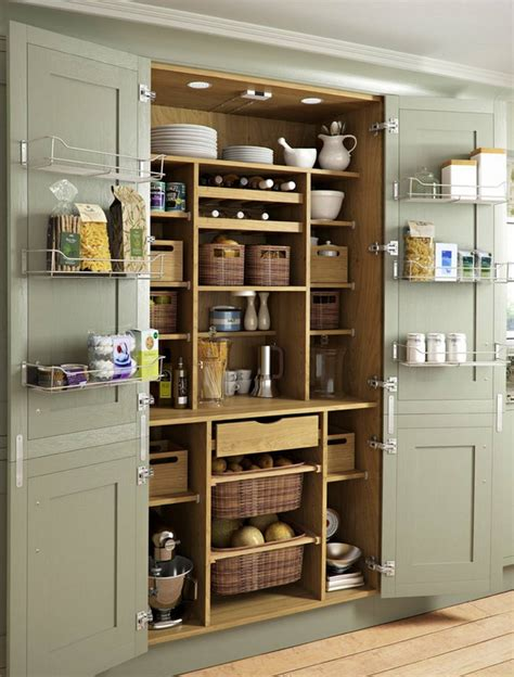 Kitchen Pantry Cabinet Sizes 24 Beautiful And Functional Free Standing Kitchen Larder