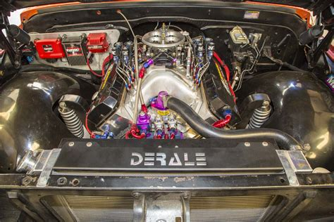 sneak peek  street outlaws farmtrucks  engine combo