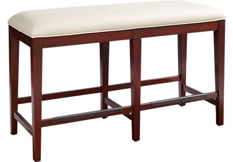 counter benches sofia vergara savona ivory counter height bench benches