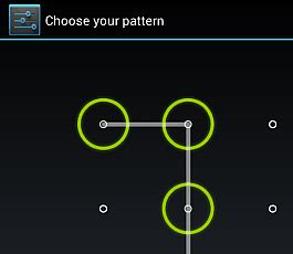 android pattern unlock source code set a screen lock on google nexus 7 tablet groovypost