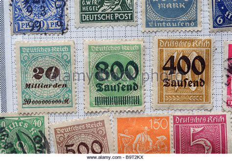 german inflation stamp stock  german inflation stamp stock images alamy
