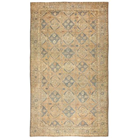 oversized rugs antique oversized kerman rug for sale at 1stdibs