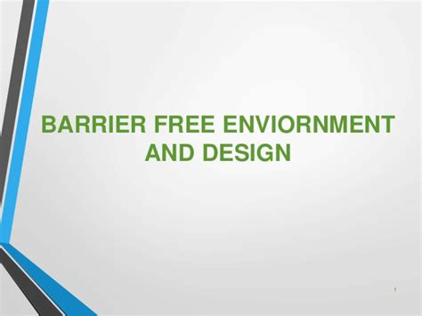 barrier free design quebec barrier free enviornment and design