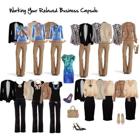 Business Casual Wardrobe by Business Casual Capsule Business Casual For