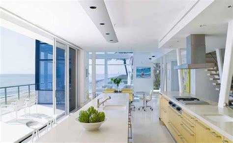 beach house kitchen design beach house kitchen design by hughes architects