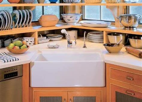 corner kitchen sink cabinets the advantages of corner kitchen sinks all what you need