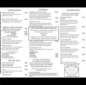 Black And White Menu by Crestline Seafood Co Beach Burgers Csc Menu In Black And