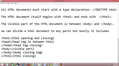 tutorial html programming getting started to basics of html hyper text markup