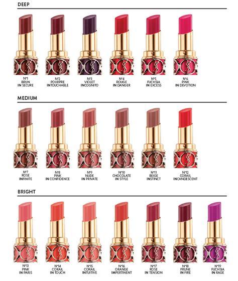 Lipstik Ysl Ori sneak peek yves laurent beaut 233 volupte shine