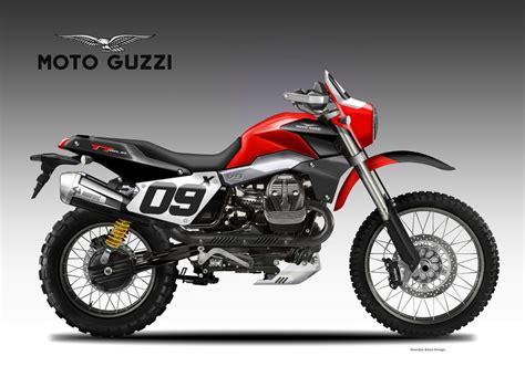 baja motor motosketches moto guzzi v9 tt baja concept