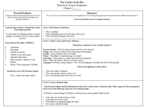 catcher in the rye themes worksheet the catcher in the rye textual evidence response ppt