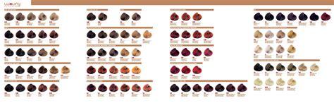 luxury colors luxury colour chart salon pacific