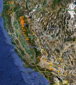 california gold maps gold claims prospecting