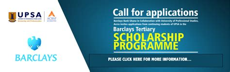 Barclays It Service Desk by Barclays Tertiary Education Scholarship Programme 2018 Opportunity Desk