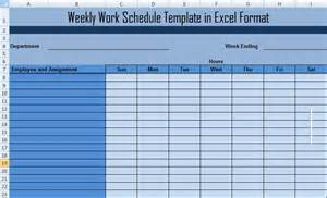 microsoft excel weekly schedule template microsoft employee schedule template calendar template 2016