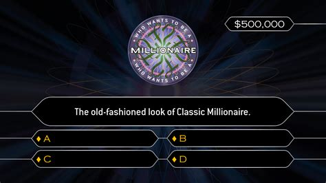 who wants to be a millionaire template powerpoint powerpoint template who wants to be a millionaire image