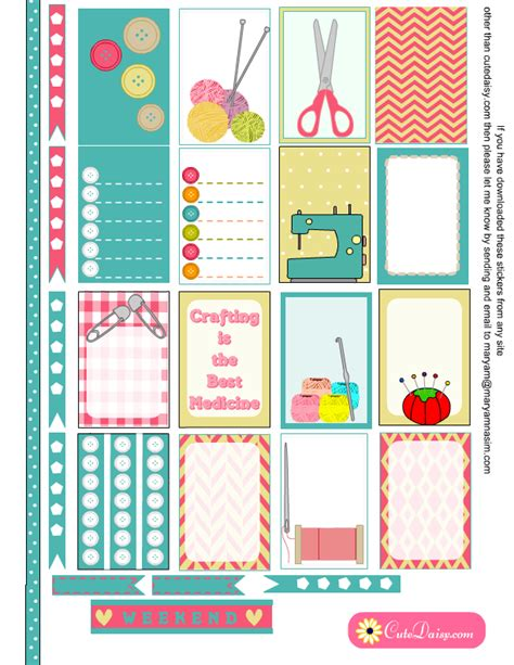 free printable stickers happy planner free printable planner stickers for happy planner and erin