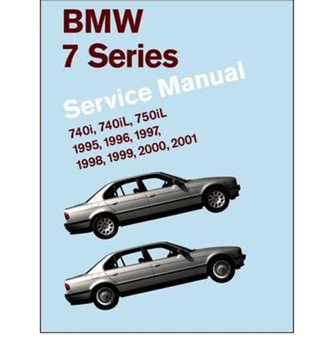bmw 7 series service manual 1995 2001 e38 740i 740il 750il bentley publishers 9780837616186