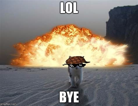 Explosion Meme - literally walking away from an explosion right now
