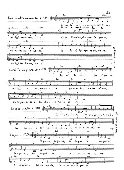 madre dolcissima testo partiture