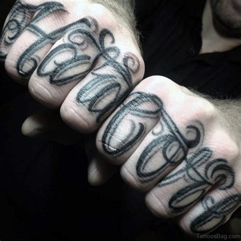 tattoo designs for men words 80 awesome finger tattoos for