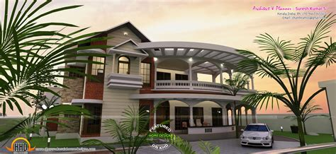 3d Home Design Architect Deluxe 8 home designs with balconies house design ideas