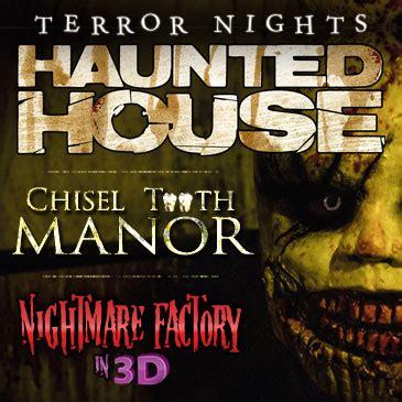 terror nights haunted house terror nights haunted house tickets